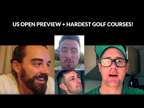 US Open Tips & Preview with Mark Crossfield, Coach Lockey & YGT Rory + Hardest Golf Courses