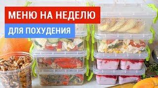 постер к видео   Меню на Неделю для Семьи   Продукты, Рецепты, Готовлю   Виктория Субботина