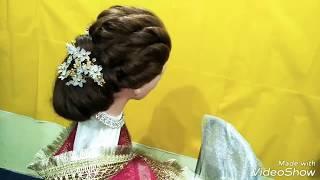 Bridal hairstyle, nikah bridal hairstyle,prom hairstyle,bridal hair hacks,