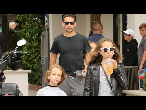 Tobey Maguire And Jennifer Meyer Picture Perfect CoParenting In Malibu