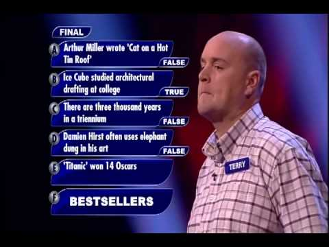 "TERRY BBC QUIZ SHOW ""PERFECTION"" SERIES 2 EPISODE 16"
