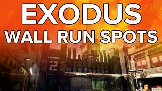 Black Ops 3 In Depth: Exodus Wall Run Spots!