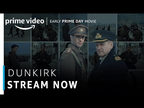 Dunkirk | Tom Hardy, Harry Styles | Hollywood Movie | Stream Now | Amazon Prime Video