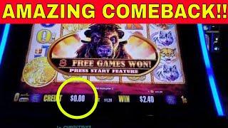 ⭐AMAZING COMEBACK⭐ BIG WIN BUFFALO GOLD #2000 SUBS - Redtint Loves Slots