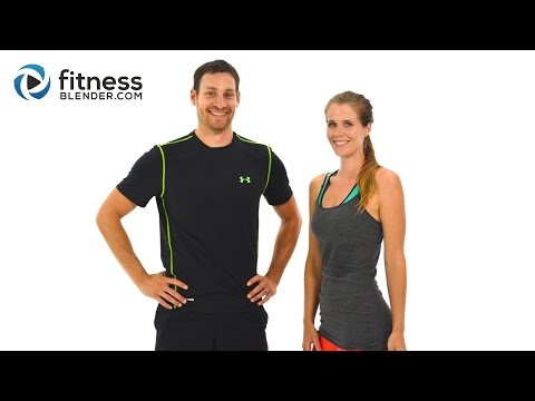 Day 3: HIIT Cardio & Abs Fitness Blender's 5 Day Workout Challenge to Burn Fat & Build Lean Muscle
