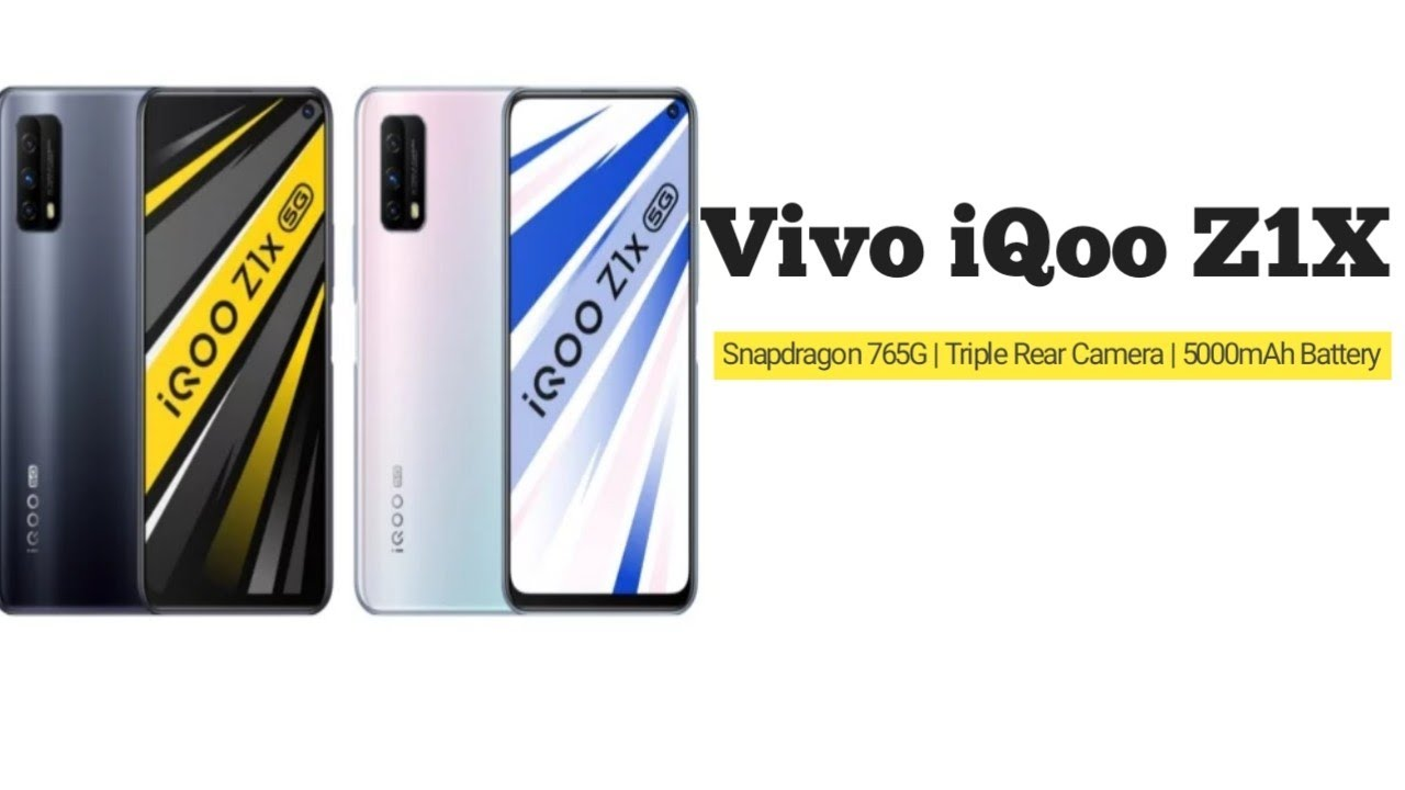 Vivo iQoo Z1x 5G Launched With Snapdragon 765G SoC, Triple Rear Cameras: Price & Specifications