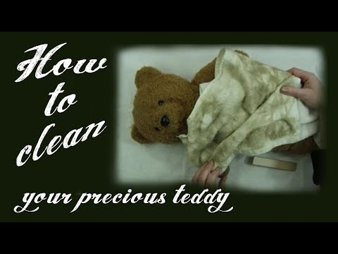 Cleaning A Vintage, Collectable Or Soft Toy Teddy Bear - Alice's Bear Shop