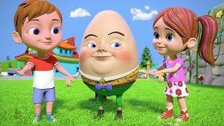 Humpty Dumpty | Kindergarten Nursery Rhymes for Children | Kids Songs & Cartoons by Little Treehouse