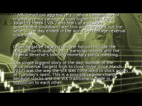 Volatility returns to the U.S. stock market