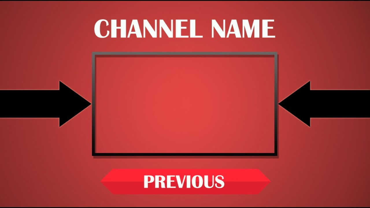 free outro template - top free outro template psd download link youtube
