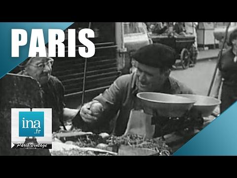 Paris 1965 à l'heure du déjeuner | Archive INA