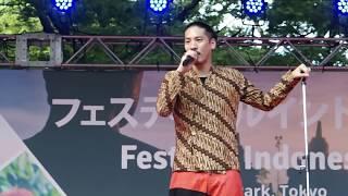 Ruang Rindu - Hiroaki Kato @ Festival Indonesia 2018(Hibiya Park)_29/07/18 加藤ひろあき 検索動画 5