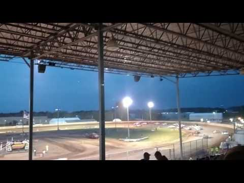 Shawano Speedway Stock Car Feature 8 2 2017