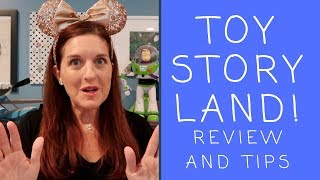 Toy Story Land! Review and Tips!