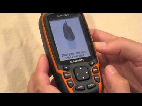 Garmin Astro 320 Compass Calibration - YouTube