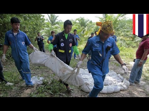 Thailand human trafficking: Authorities find bodies of six Rohingya migrants - TomoNews