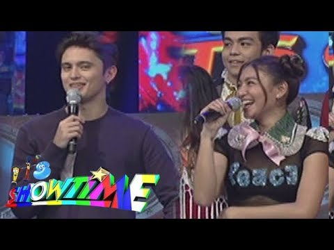 It's Showtime: James' reaction after watching Nadine's Magpasikat performance