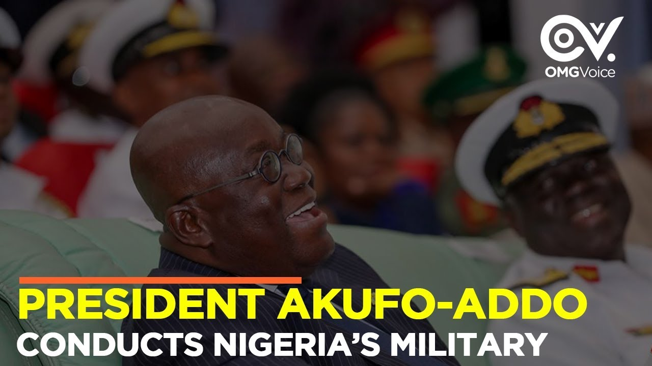 President Nana Akufo-Addo Conducts Nigeria's Military Band | OMG Originals