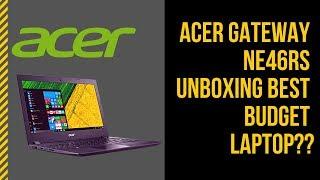 Acer Gateway NE46Rs Unboxing Best Budget Laptop??