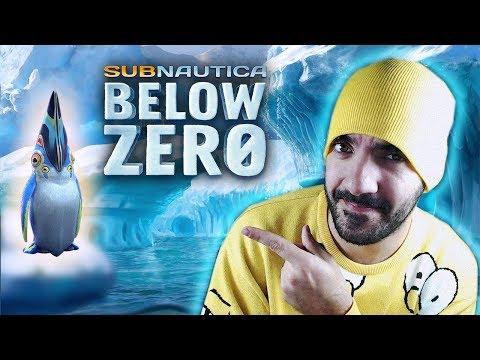 SUPERVIVENCIA EN EL AGUA HELADA... ¡CON PINGÜINOS! ⭐️ Subnautica Below Zero #1   iTownGamePlay