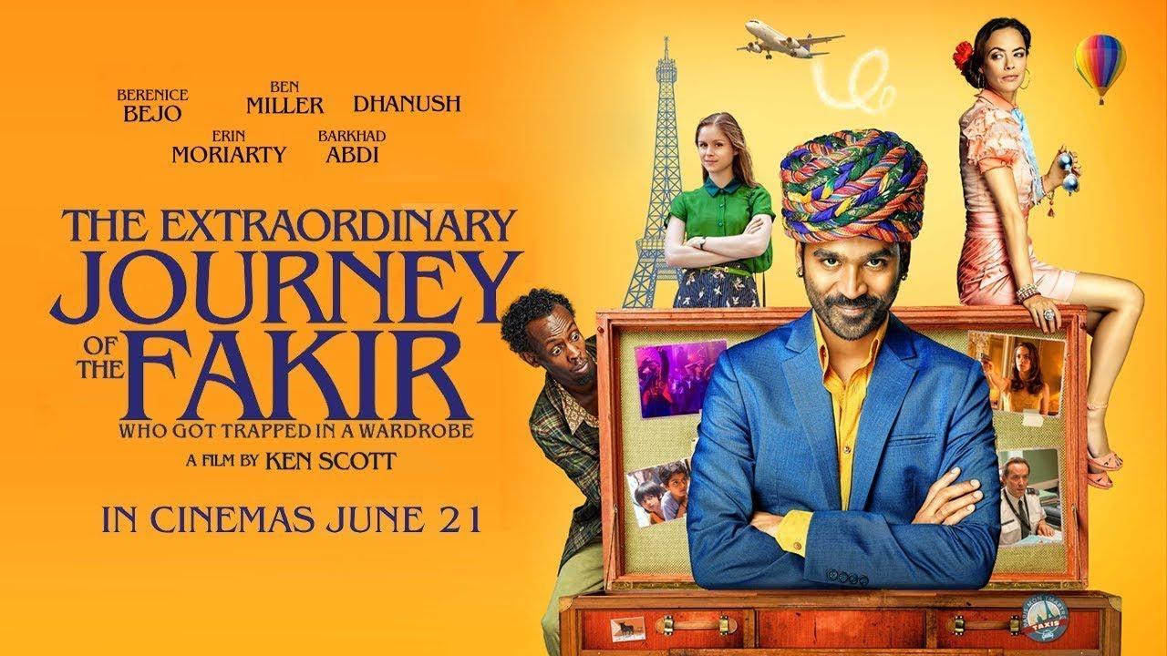 The Extraordinary Journey of the Fakir  Official Trailer Hindi Dhanush Kenscott Dhanush,21 June 2021