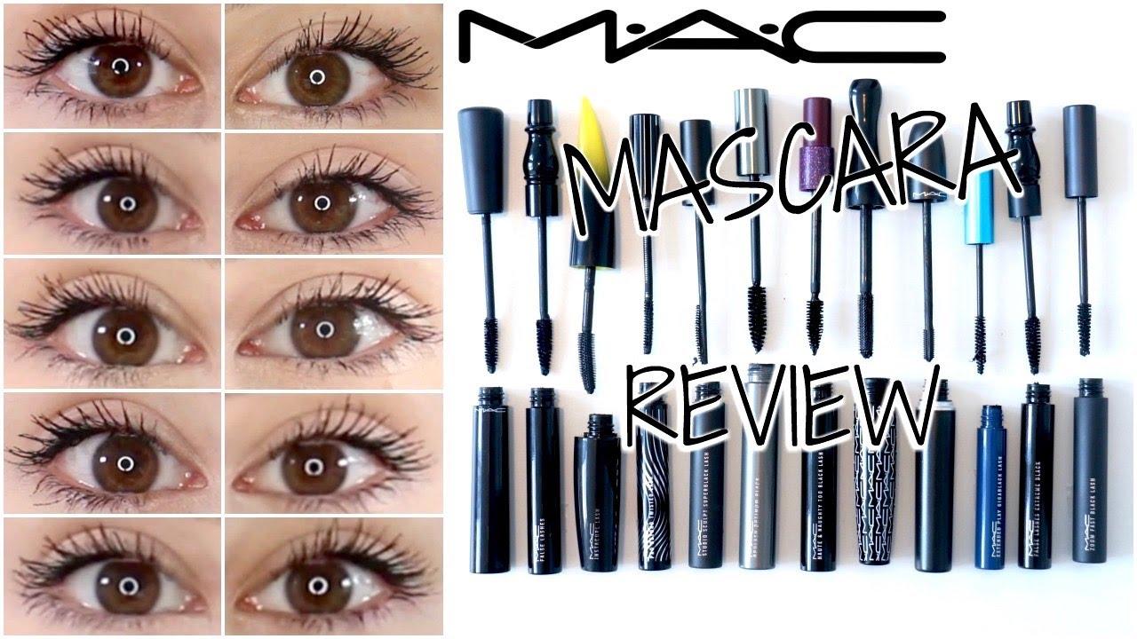 ceead2c1e65 ARE MAC MASCARAS WORTH THE MONEY?! || MAC MASCARA REVIEWS 2017 - YouTube