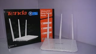 [ Hindi - हिंदी ]Tenda F3 300Mbps wireless router | Unboxing