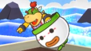 Paper Mario: Sticker Star Walkthrough - W4-4 Shaved Ice Cave & W4-5 Whiteout Valley