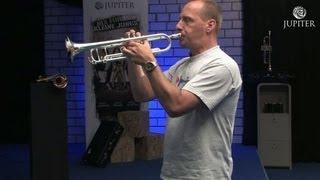 Tonleiter und Glissando auf der Trompete