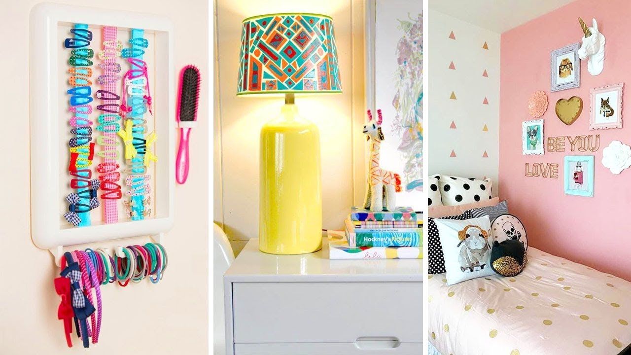 DIY ROOM DECOR MAKEOVER! 20 Cool DIY Crafts Ideas for Teenagers