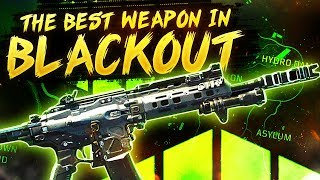 This gun in Blackout is NUTS... Best Call of Duty Blackout Weapon
