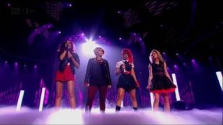 Little Mix do a Beyonce - The X Factor 2011 Live Semi-Final (Full Version)