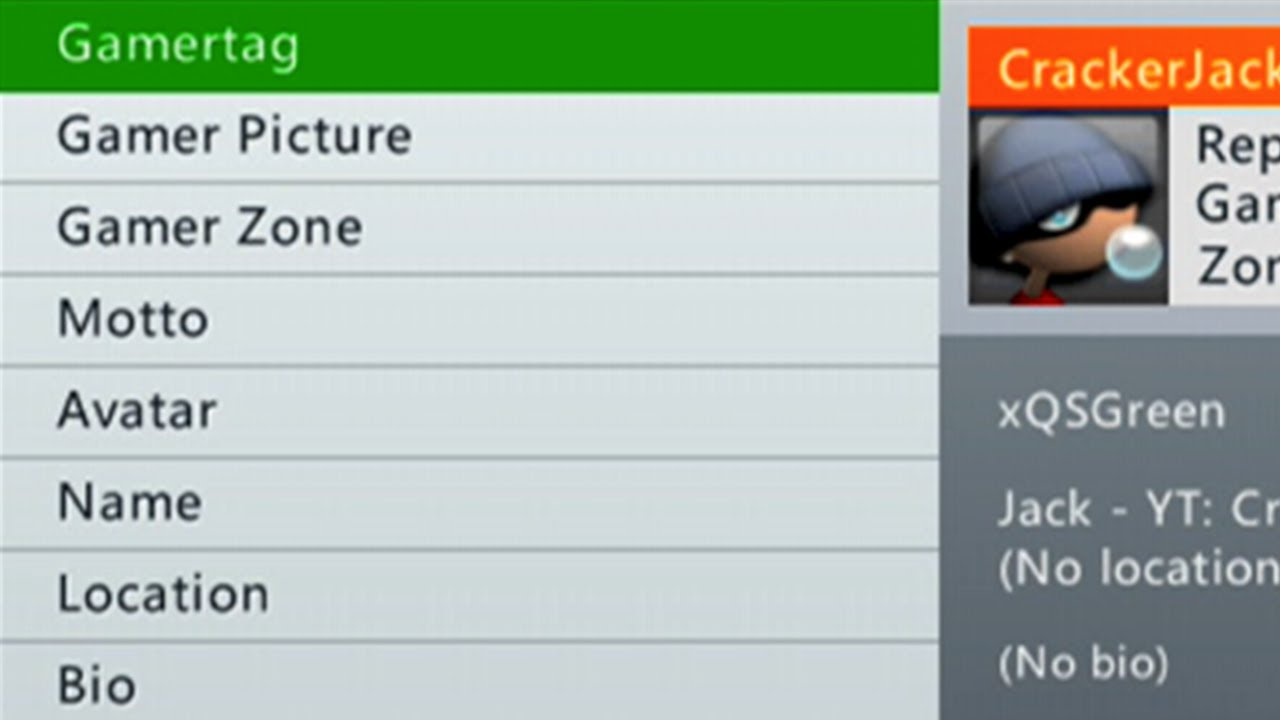 how to sign into xbox live with gamertag