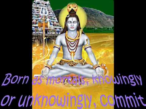 Lord Shiva! Lord of Forgiveness (Kuttram  Porutha Eswarar)