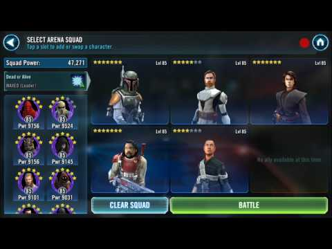 Swgoh time to activate General Kenobi!!!!!