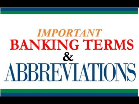 Banking Awareness 2018 for SBI POs & Clerks   Important Banking & Finance Abbreviations