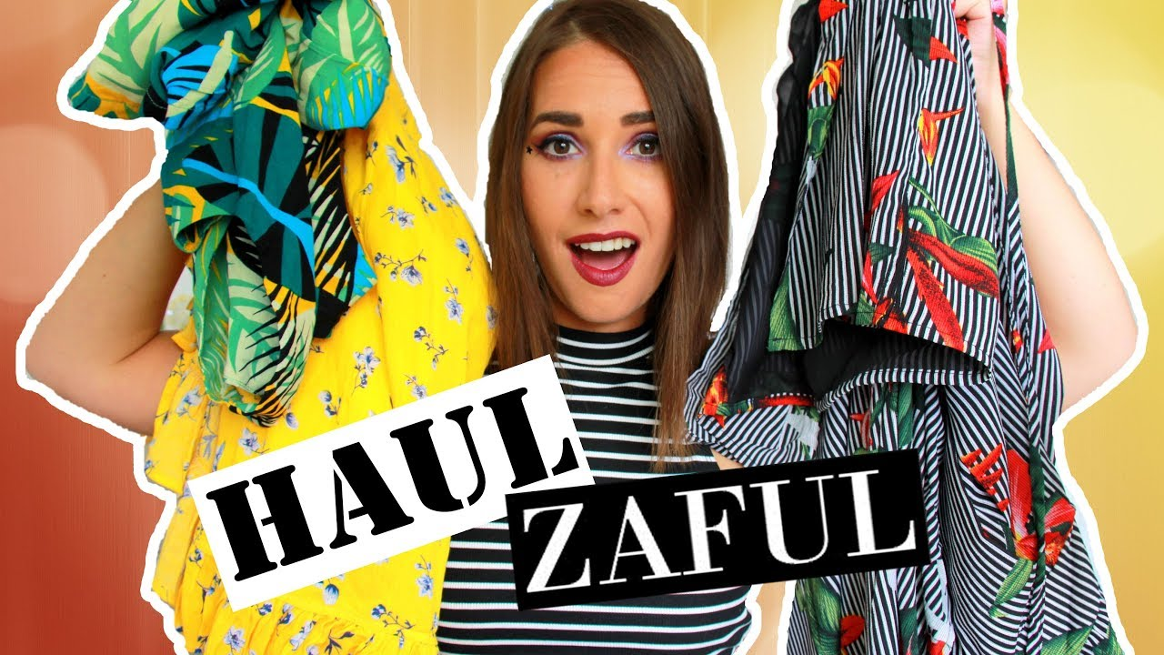 😍 TRY ON HAUL   Zaful, LeaZ boutique 😍 - YouTube b78e5800f81
