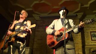 Back From The Dead - TV Smith & Richard Strange at Cabaret Futura 14th May 2012
