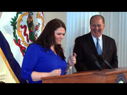 Gov  Tomblin proclaims April as Autism Awareness Month in WV