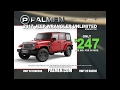 2017 Palmen 1000 Jeep Wrangler Unlimited at Palmen in Racine