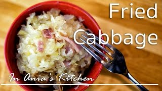 Fried Cabbage - Kapusta Zasmazana - Recipe #211