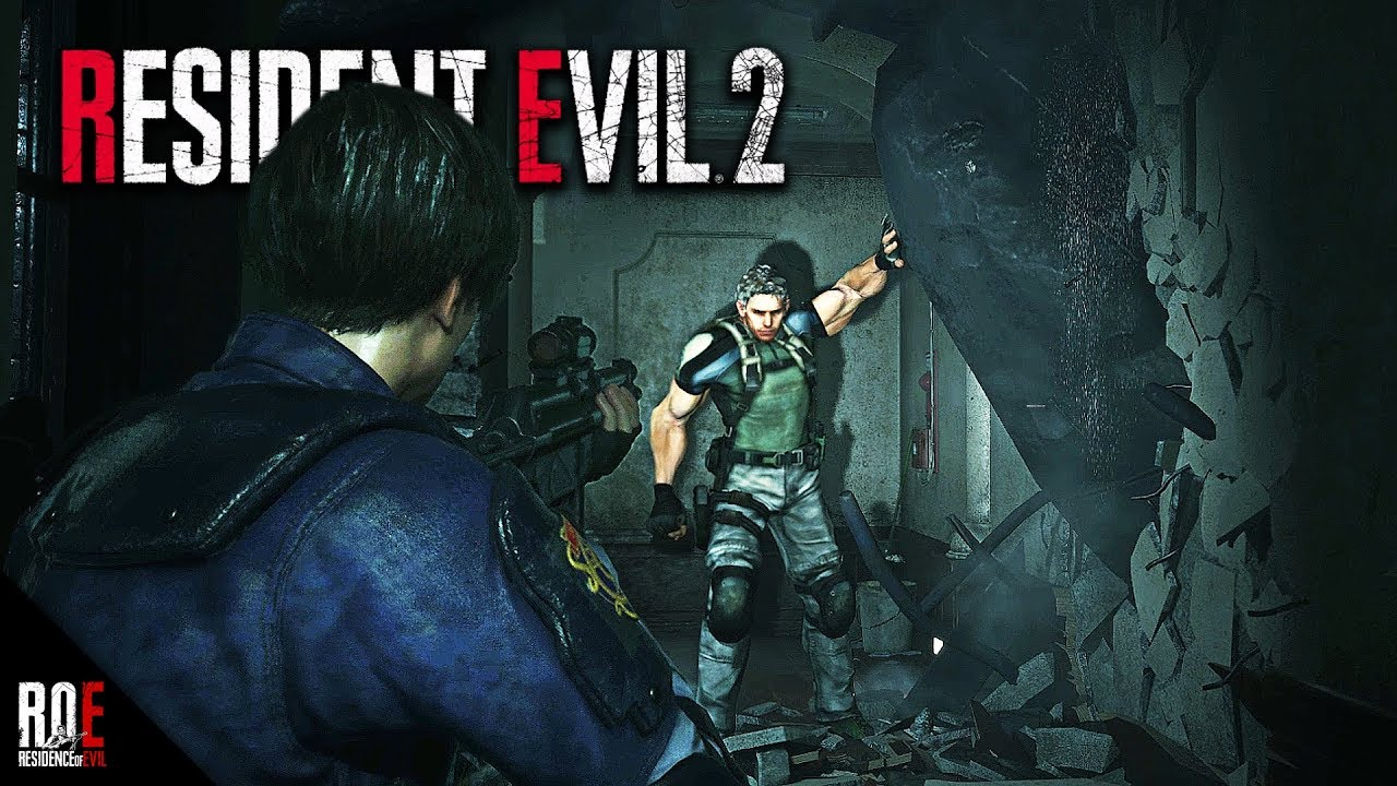 Resident Evil 2 Remake Re5 Chris Redfield As Mr X Mod Steroid Redfield Rampage Youtube