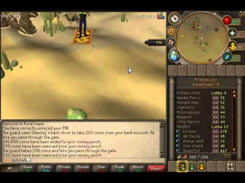 2012 Runescape Glitch Guide How To Fly, Sled, Crabwalk