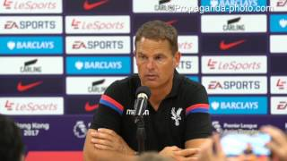 170719 Frank de Boer post-Liverpool press conference