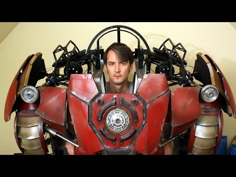XRobots - Iron Man Hulkbuster Cosplay Part 35, Working on th