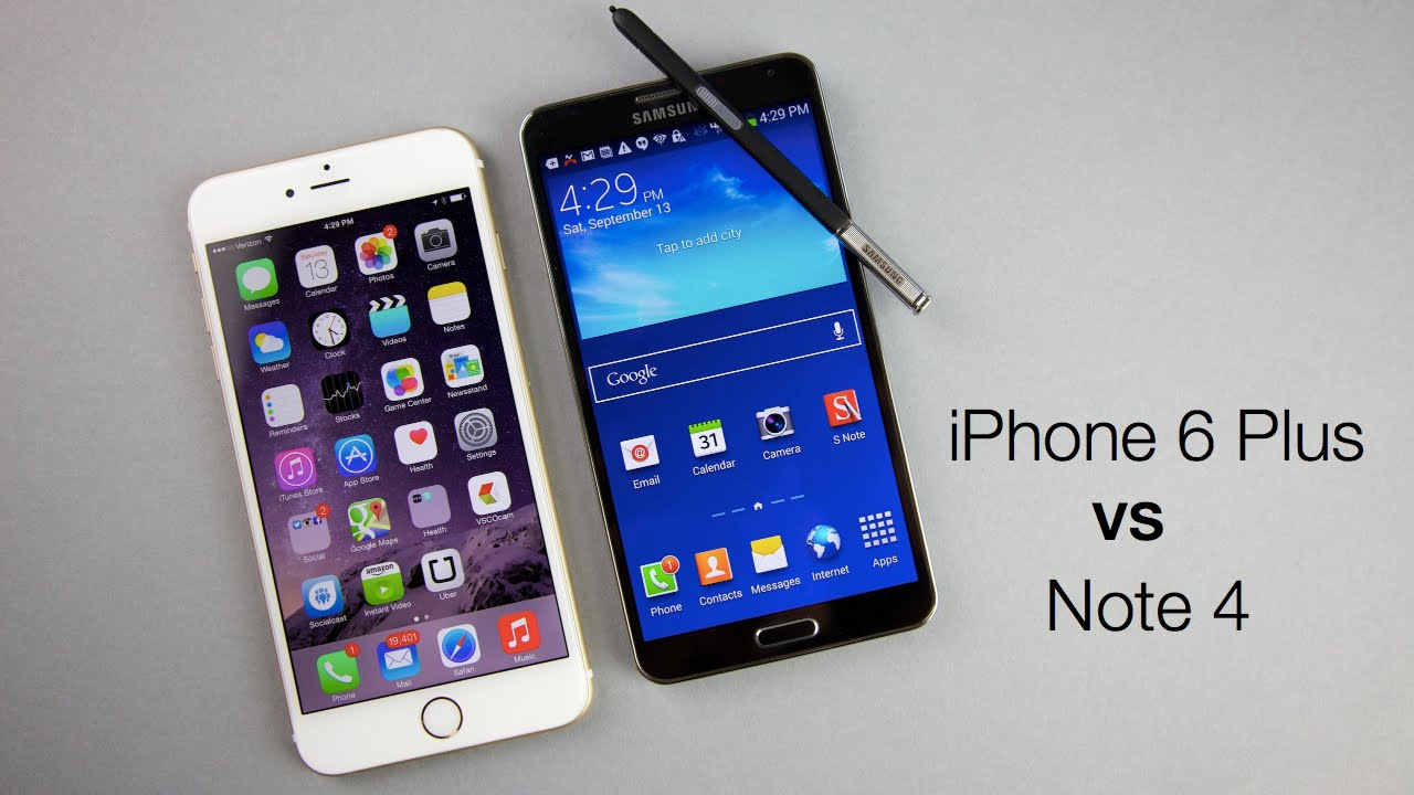iphone 6 notes iphone 6 plus vs galaxy note 4 comparativa a fondo 11371