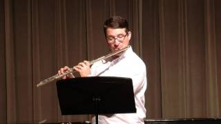 tmea 2016 17 all state flute etude in e major furstenau