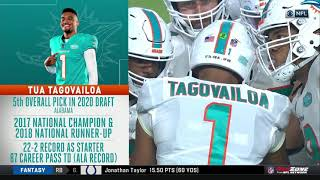 Tua Tagovailoa's First Drive in the NFL