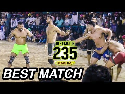 #235 BEST MATCH:- JALALPUR VS KALSIAN...
