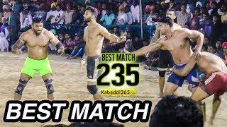 #235 BEST MATCH:- JALALPUR VS KALSIAN (MAHIAN WALA KABADDI TOURNAMENT 2017)